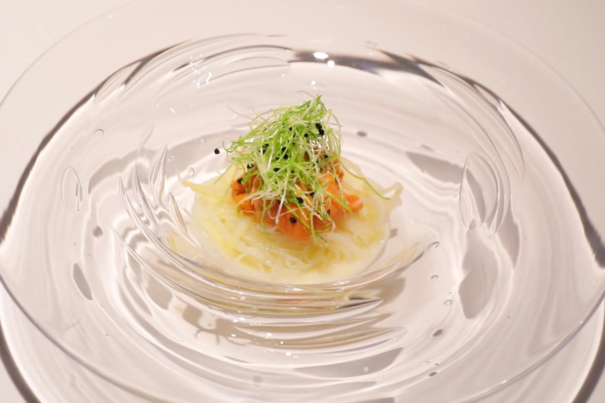 ホワイトアスパラのビーフン和え|Restaurant MOTOI