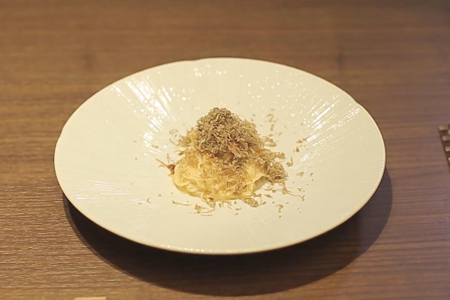 ウニとトリュフの冷製ビーフン|中国菜 エスサワダ