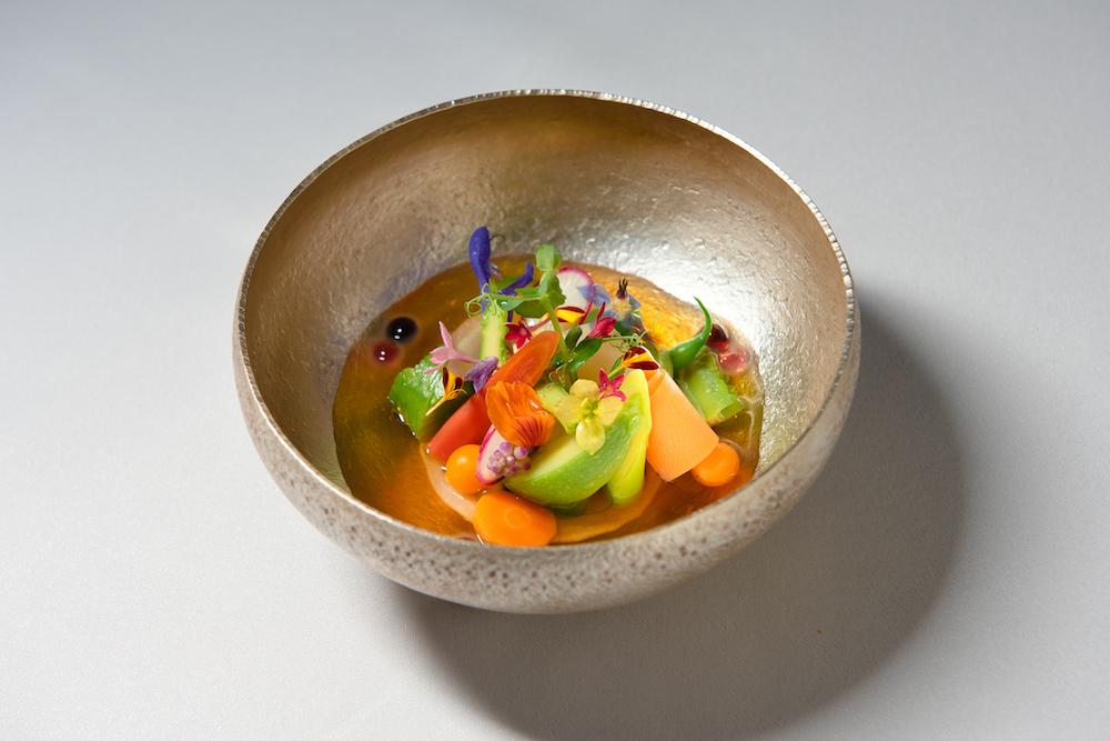 野菜とコンソメの一品