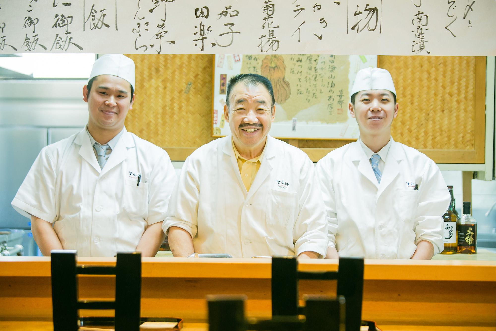 Ryozanpaku Ken'ichi Hashimoto & staff