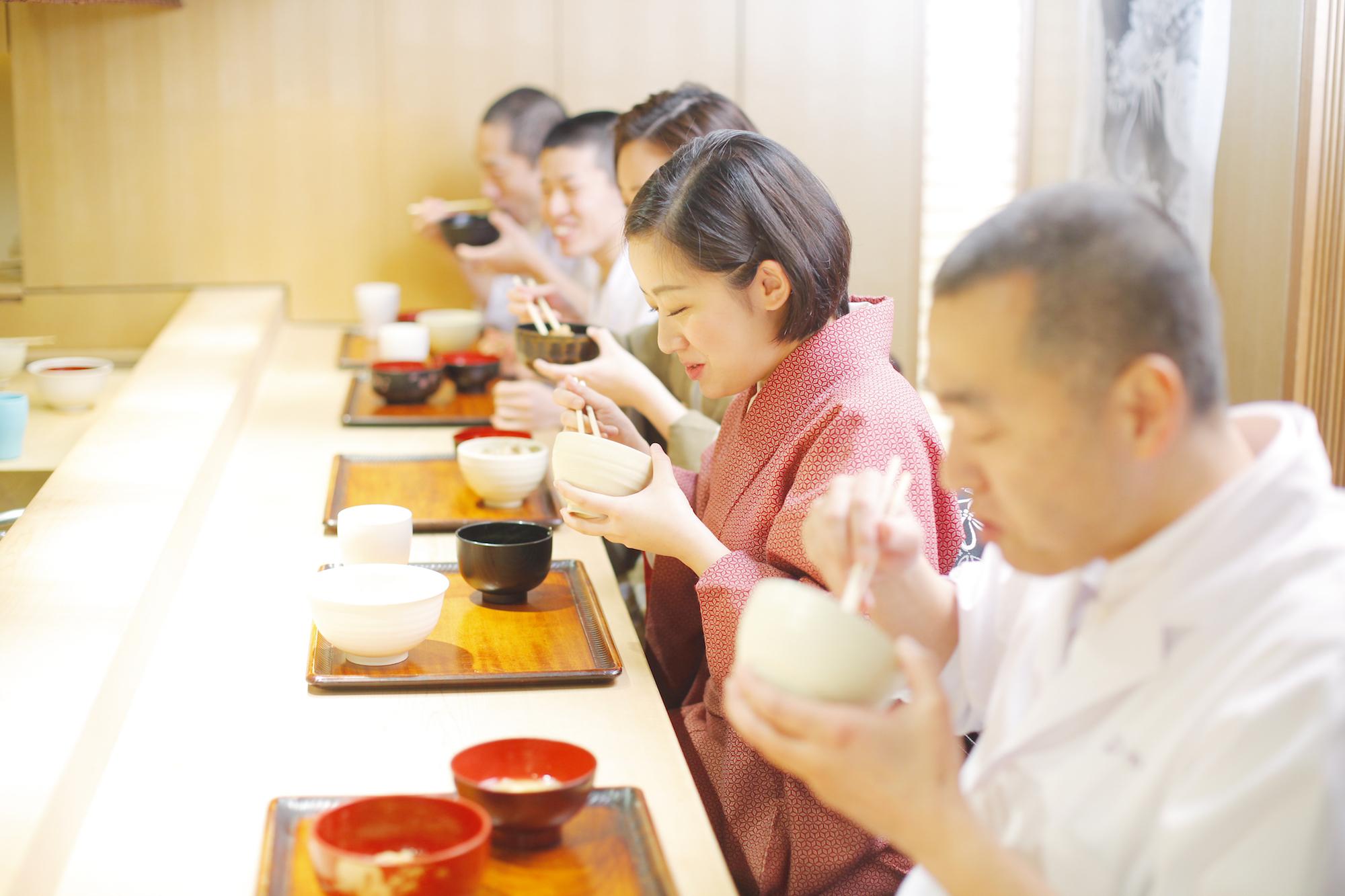 Kagurazaka Ishikawa Hideki Ishikawa & staff