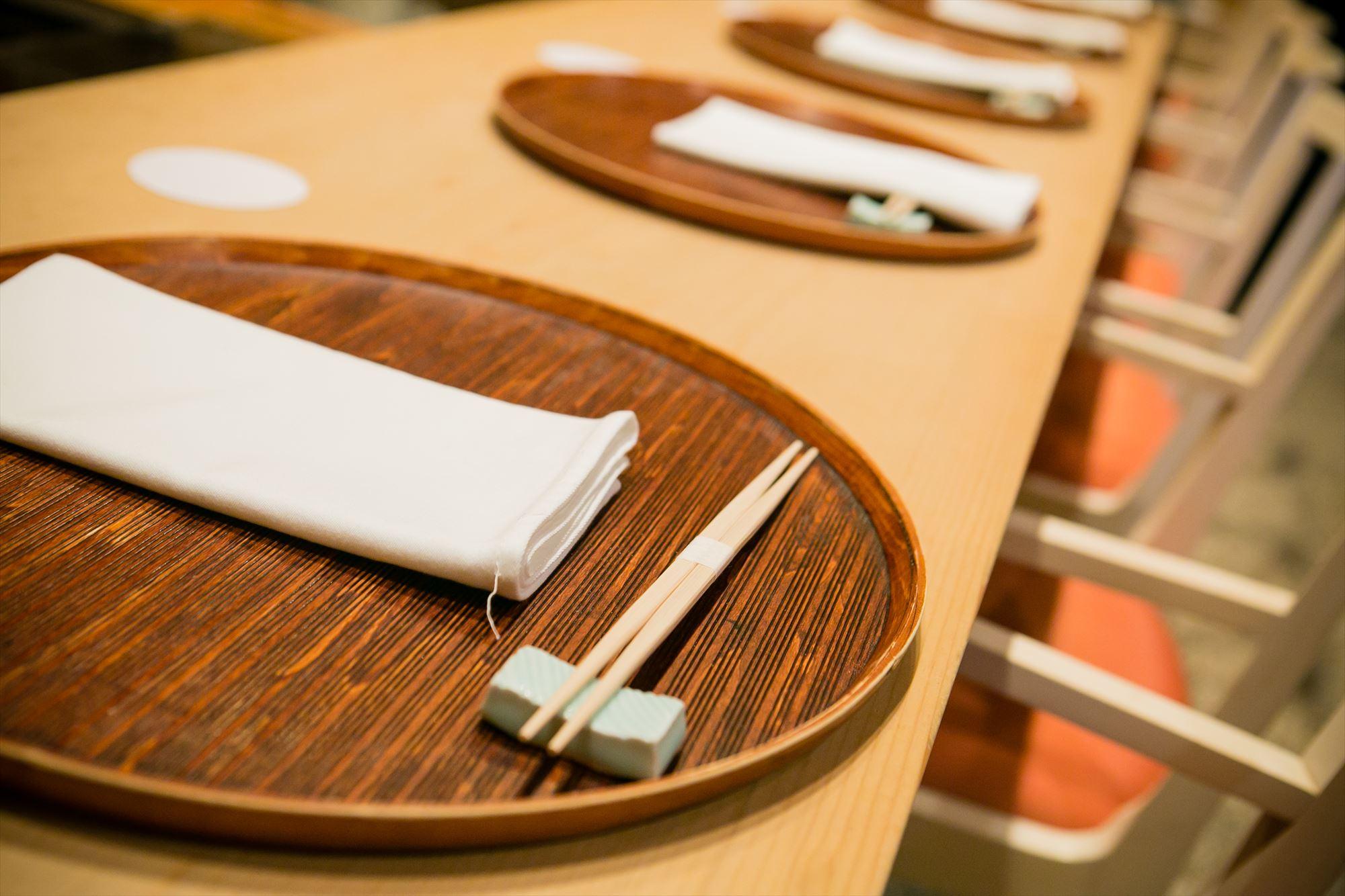 Kaishoku Shimizu table-set
