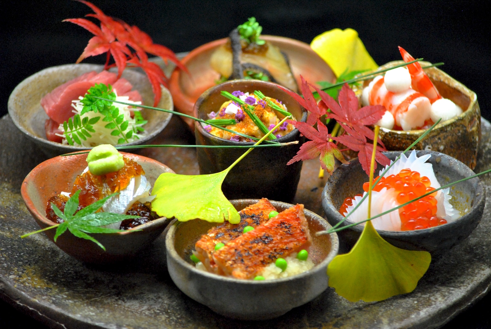 Ryugin Seiji Yamamoto cuisine