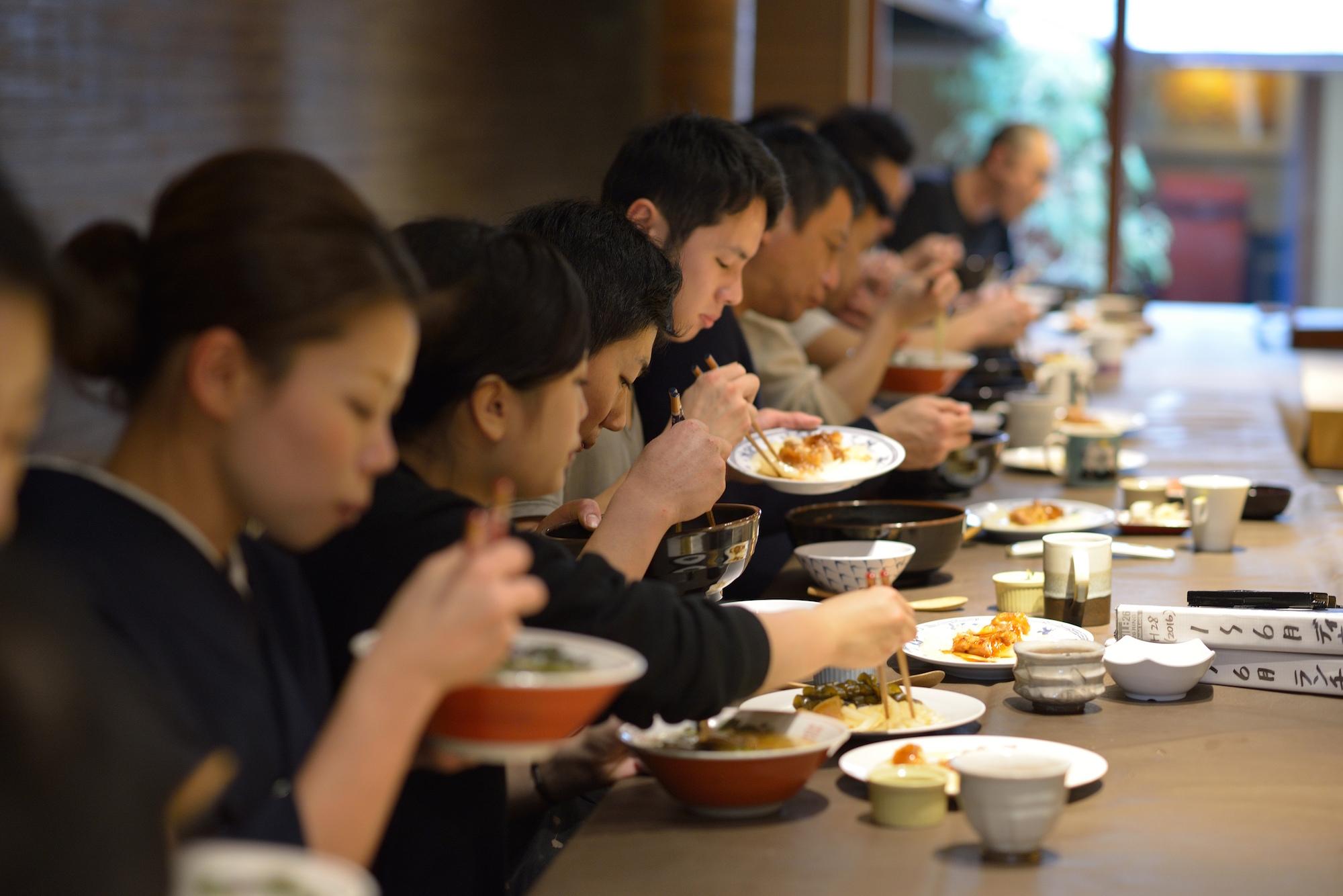 Gion Sasaki staff meal