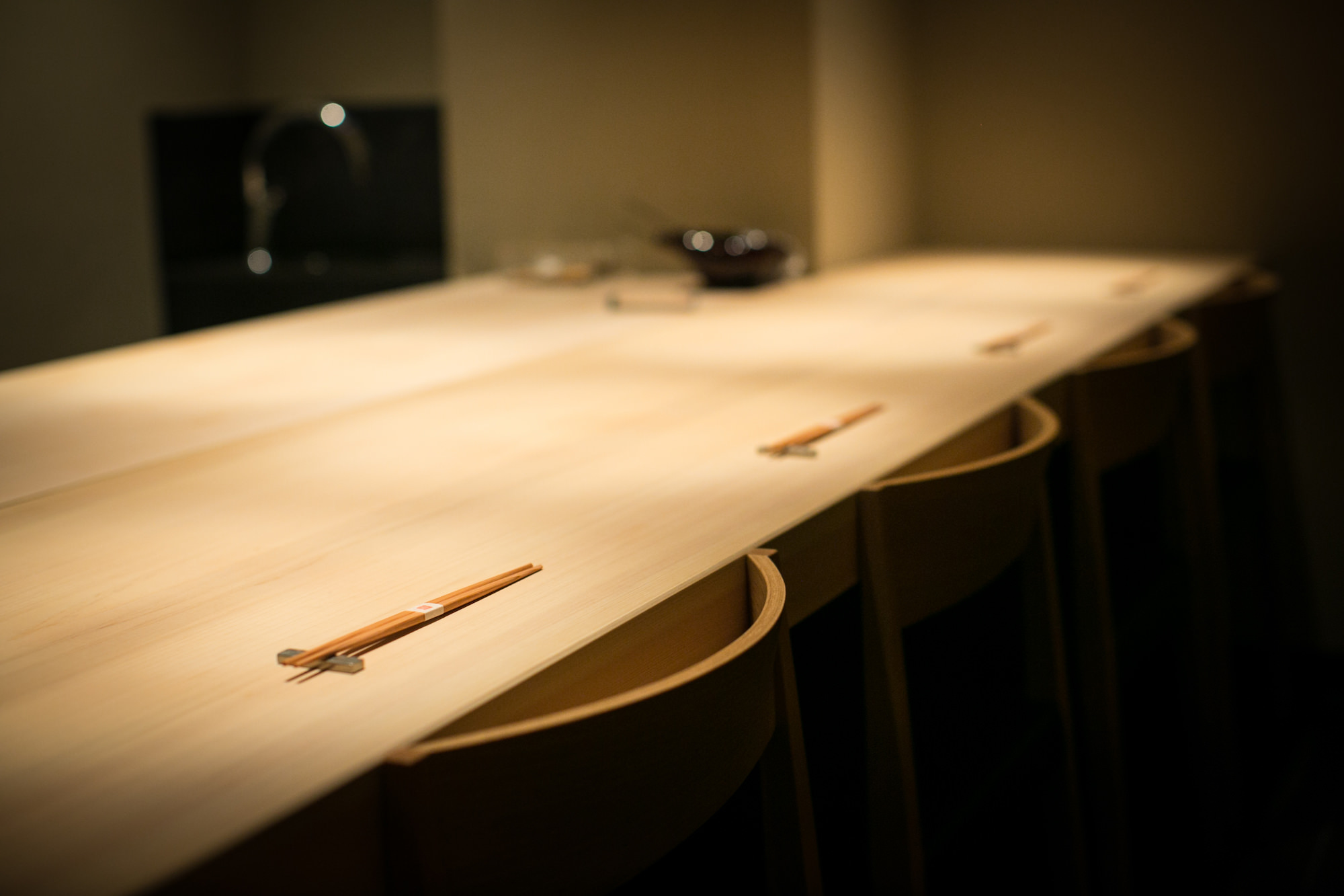 Sushidokoro Kurosugi table-set