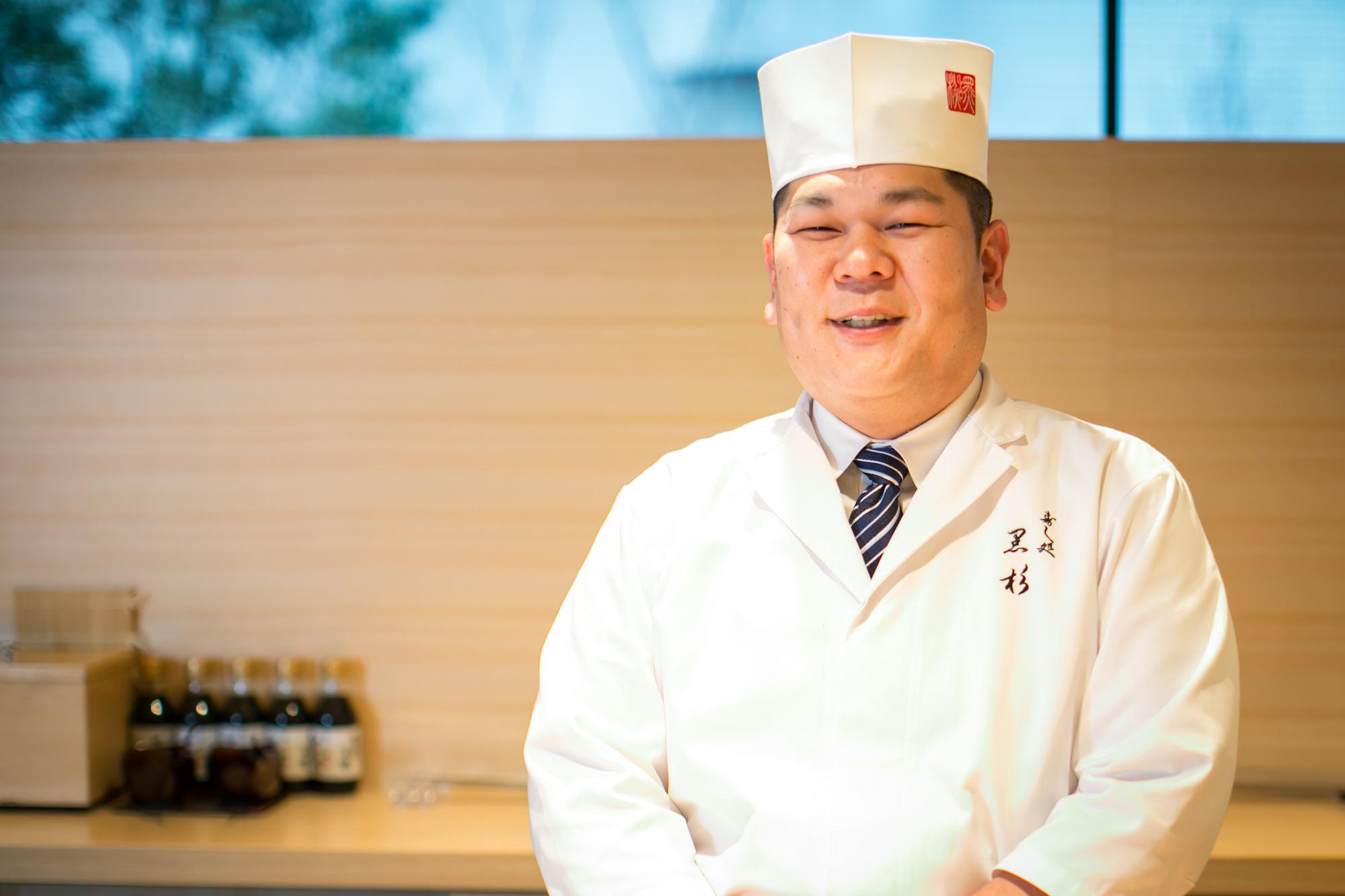 Sushidokoro Kurosugi Akihiro Kurosugi