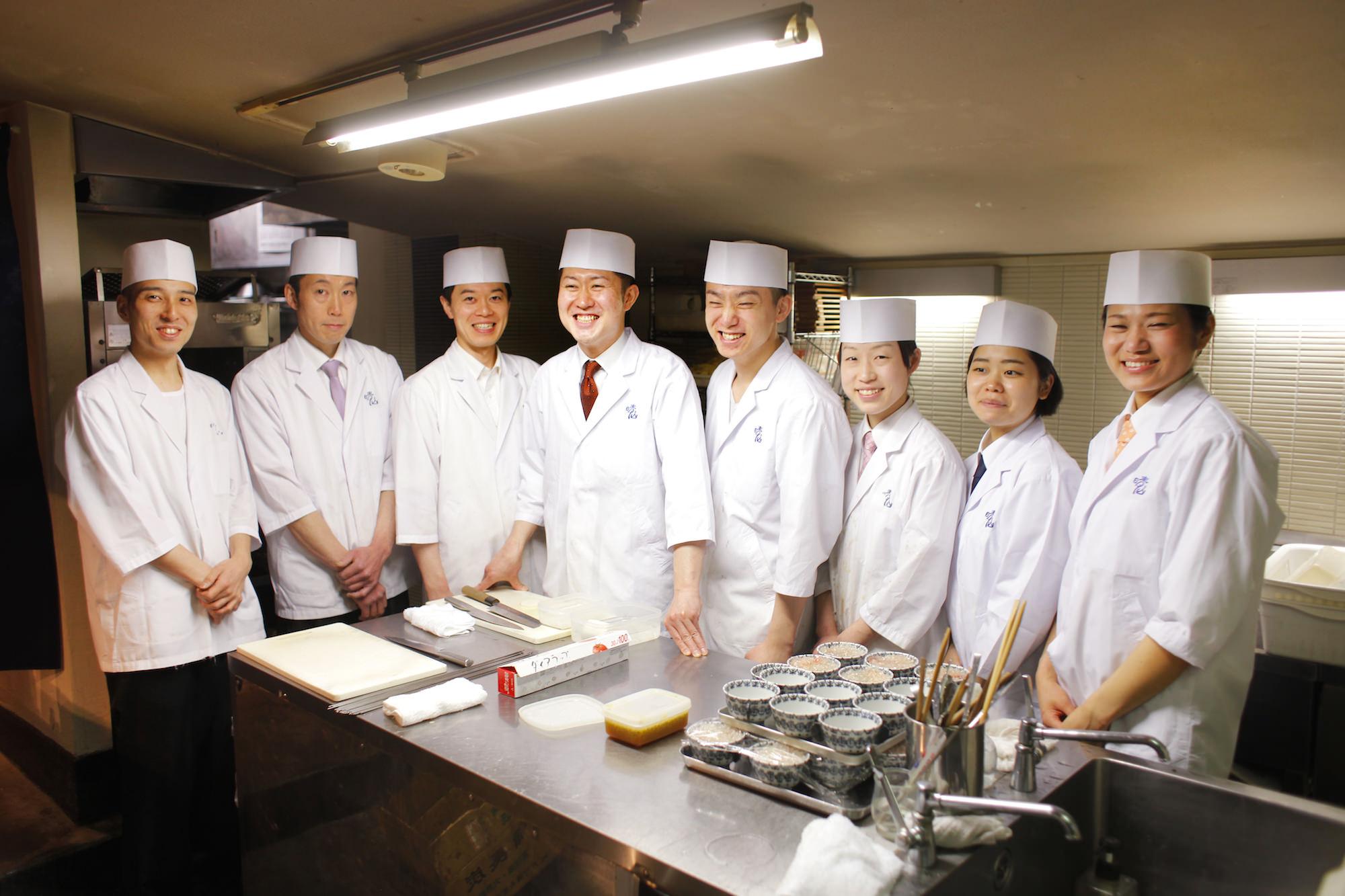Japanese Cuisin Seizan Haruhiko Yamamoto & staff