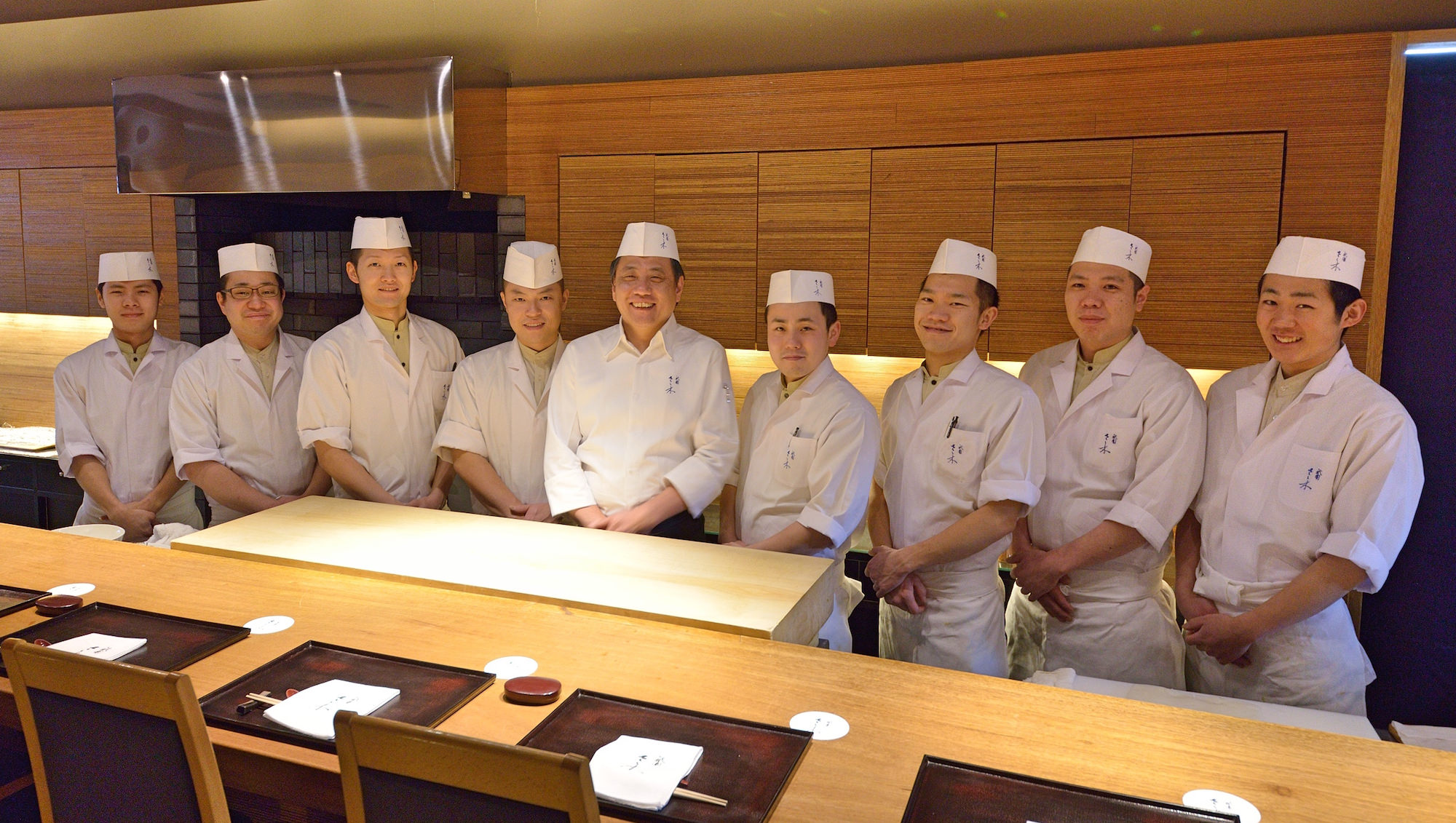 Gion Sasaki Hiroshi Sasaki & staff