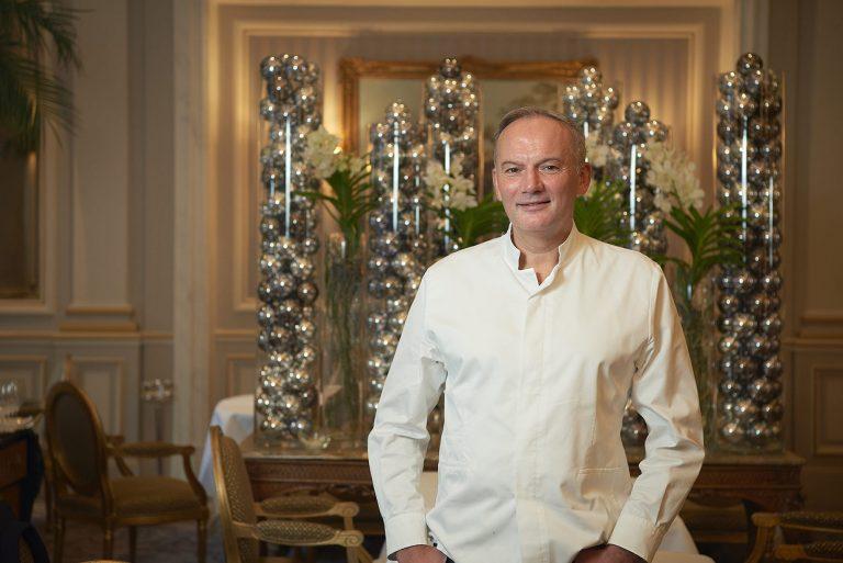 Restaurant Le Cinq Christian Le Squer