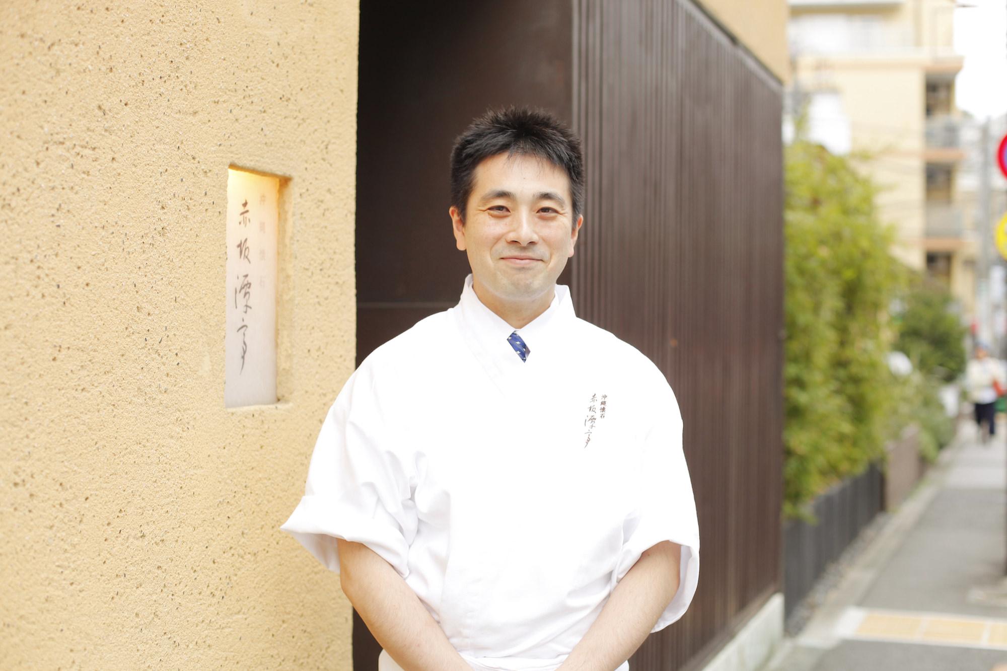 Okinawa Kaiseki cuisine Akasaka Tantei Naoki Tanaka