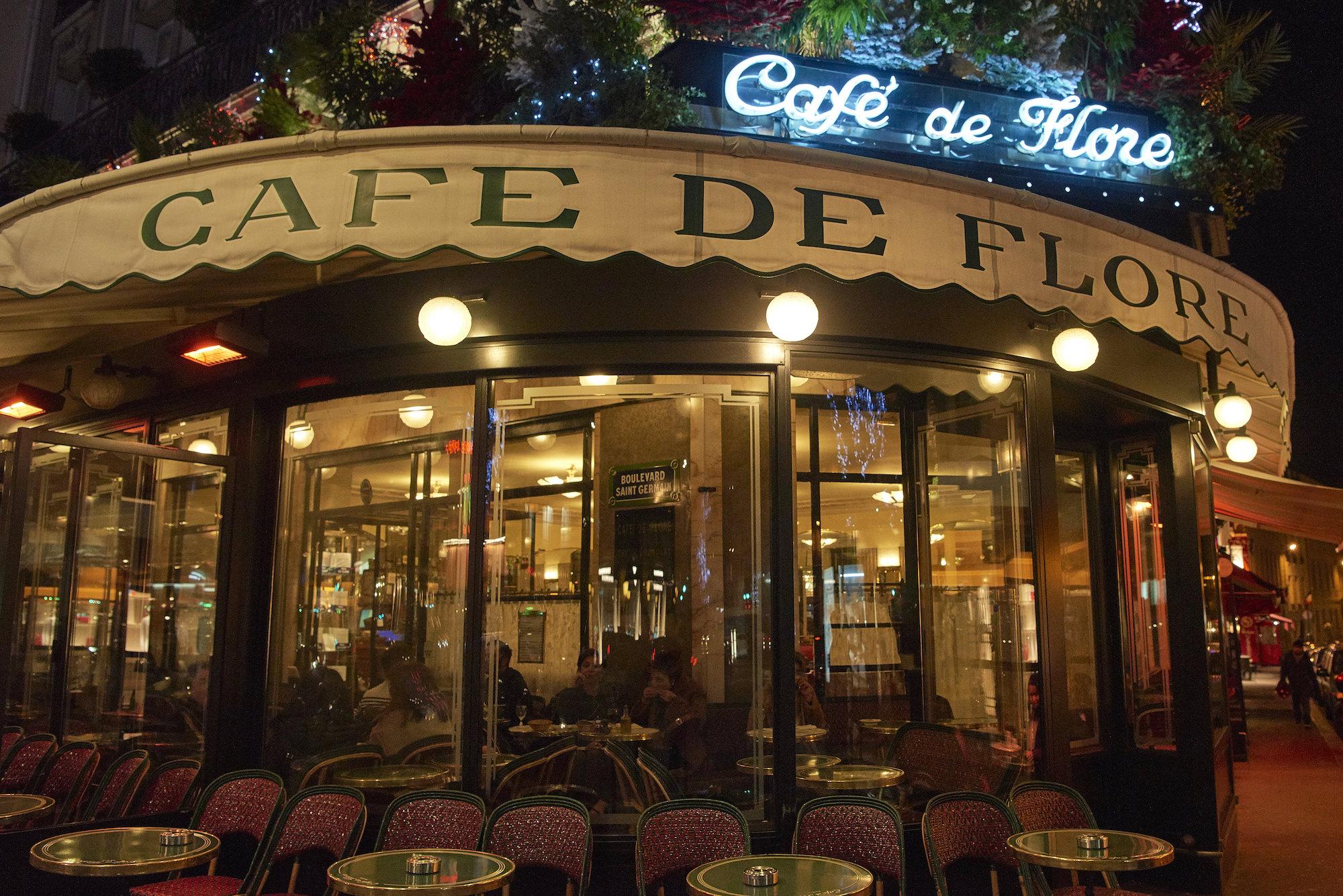 Café de Flore appearance