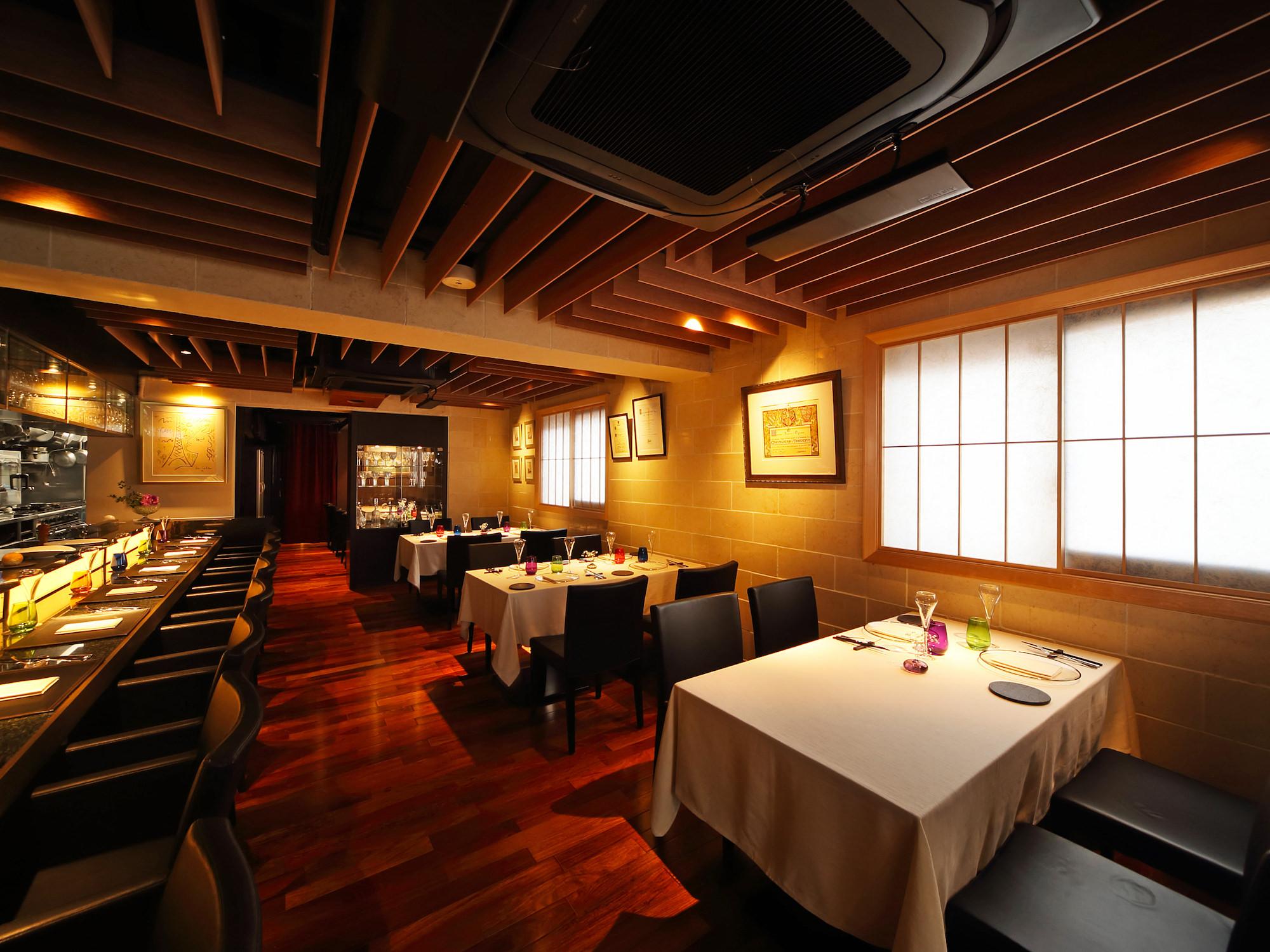 Maison de Minami French Kappo interior