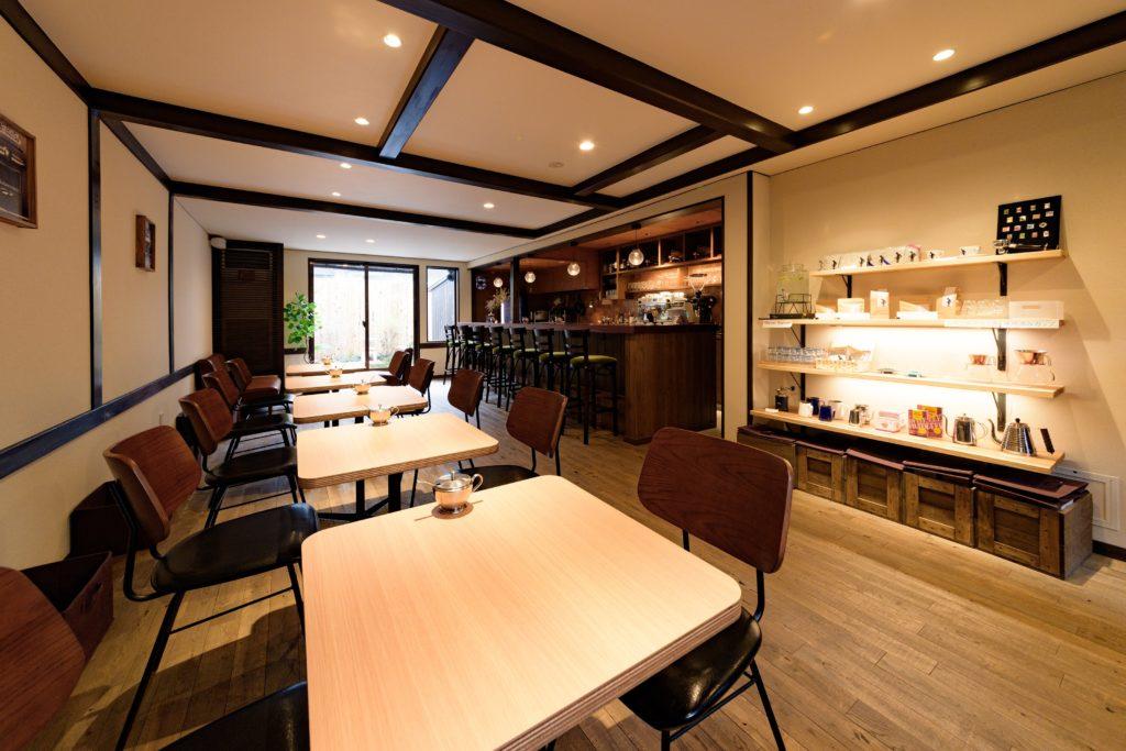 Okaffe Kyoto interior