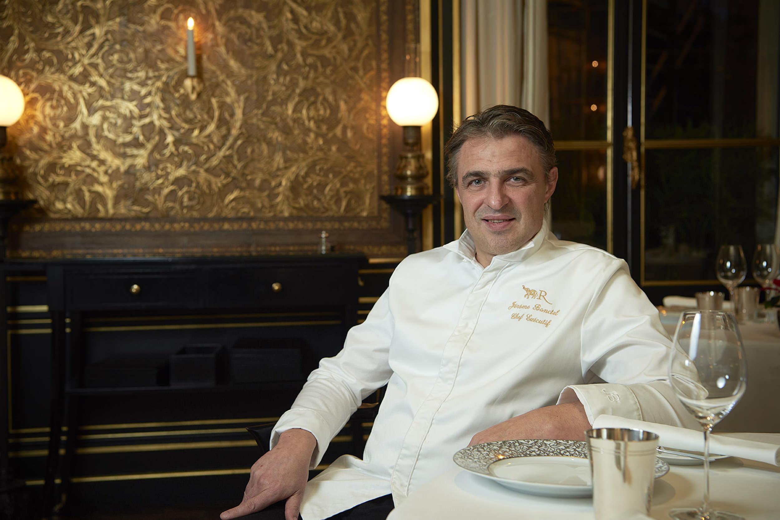 Restaurant Le Gabriel, La Réserve Paris Jérôme Banctel
