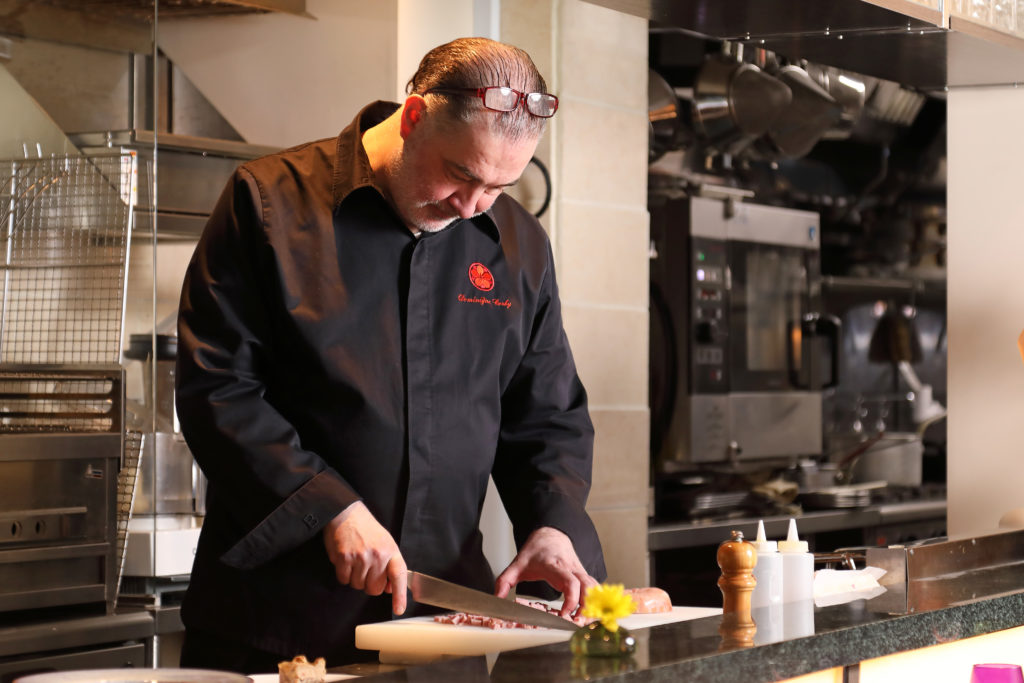 Incroyable Attracted By Counter Kappo (Japanese Cuisine) And Japanese Ingredients. The  Chef From France Who Loves Japan And Creates A Original Marriage Of  Japanese And ...