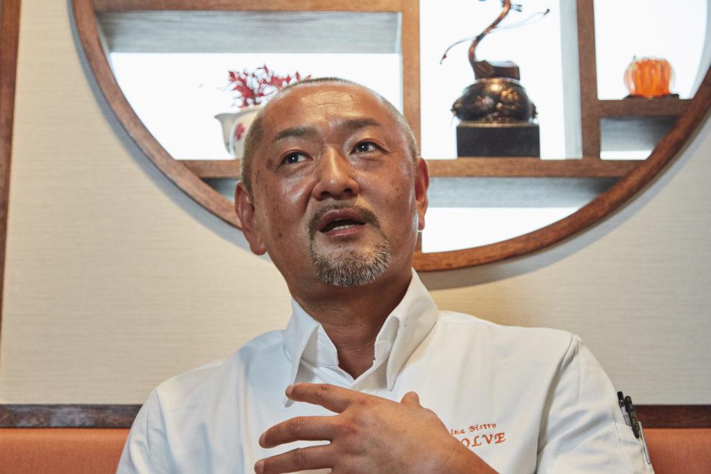 China Bistro EVOLVE Yoshifumi Tsunemura