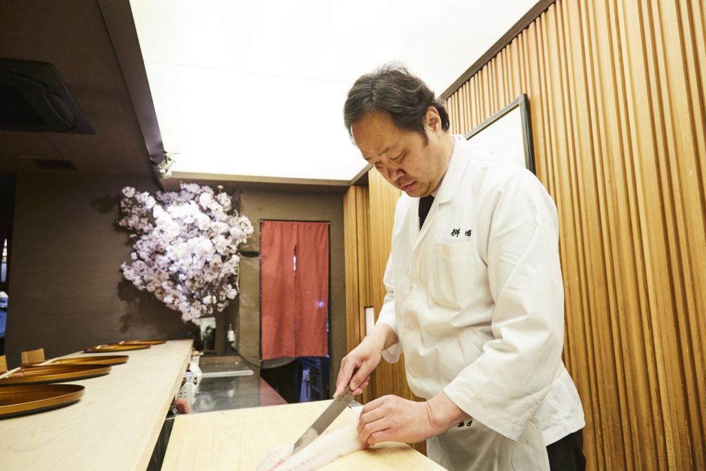 Yoshichika Masuda(Kaiseki Cuisine Masuda)