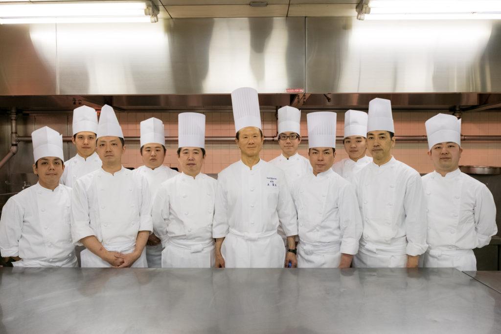 Chinese Restaurant Imperial Palace Wong Hing Sang & staff
