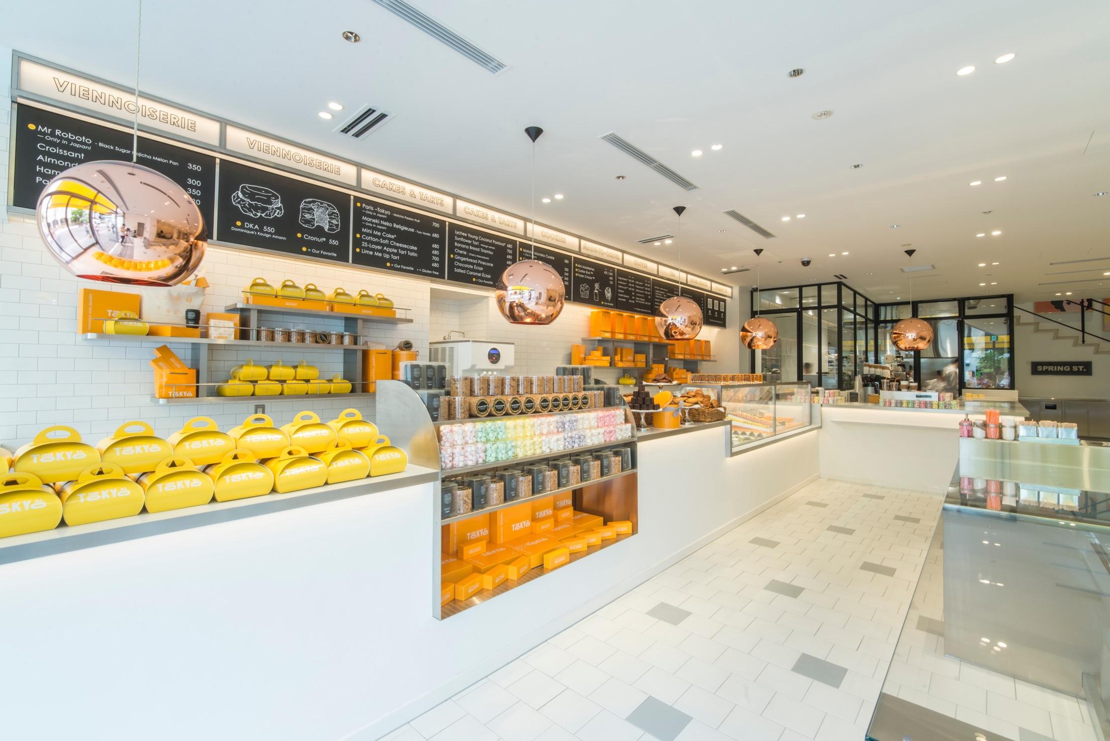 Dominique Ansel Bakery interior