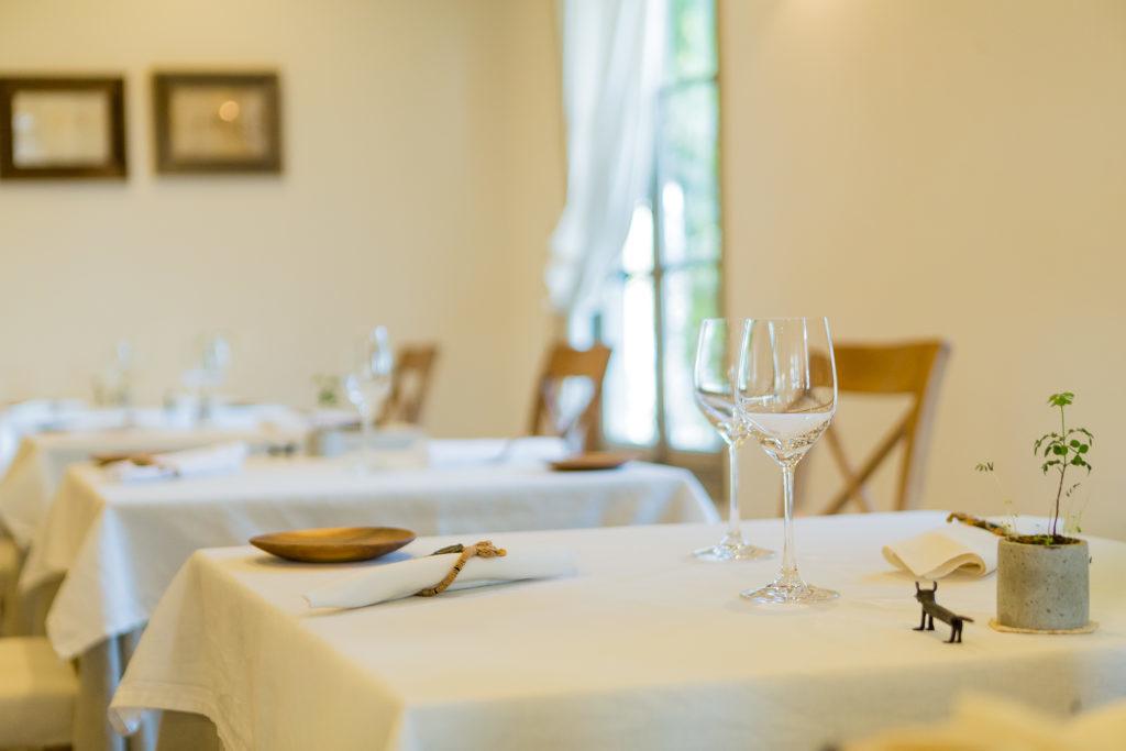 Villa Aida table set