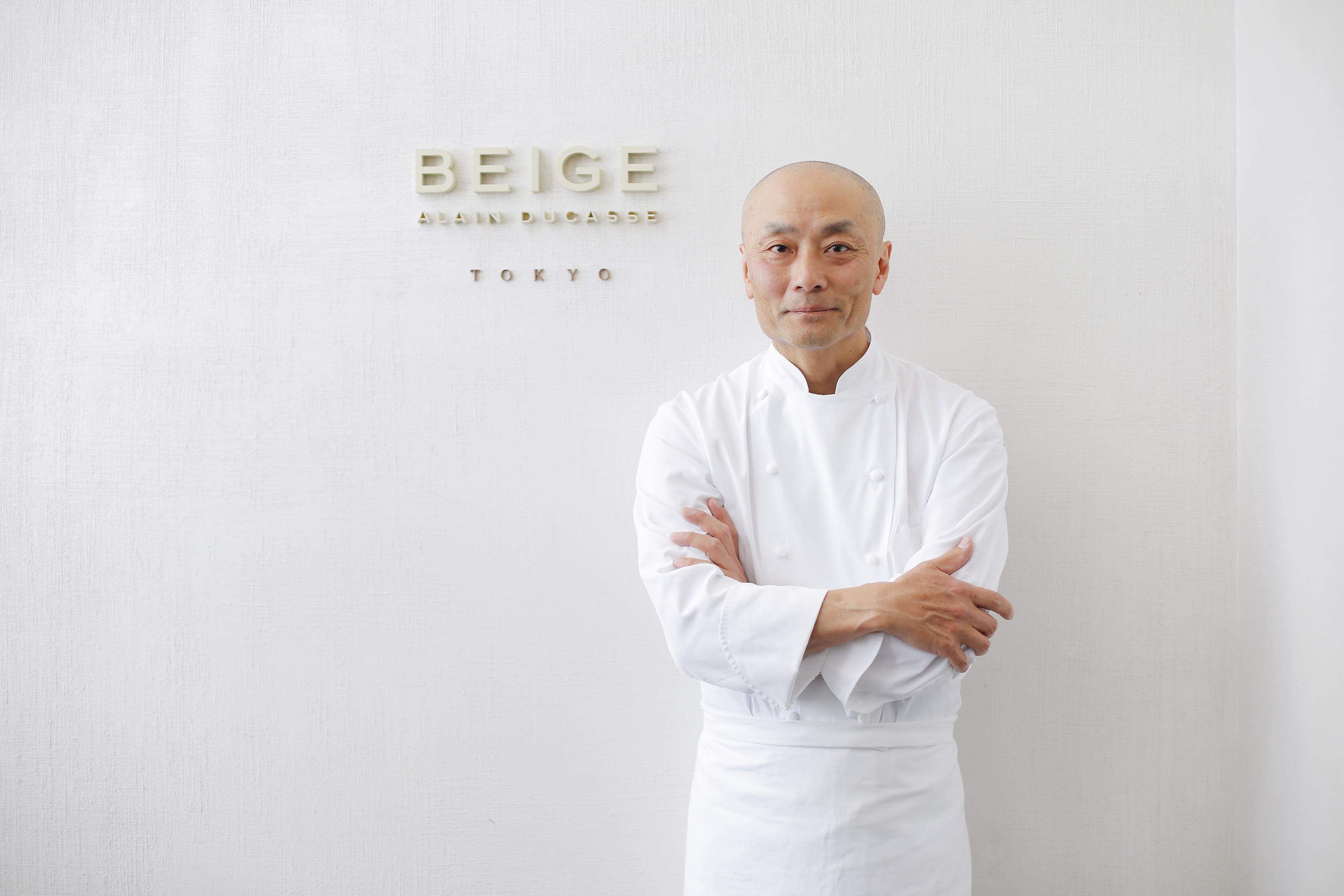 BEIGE ALAIN DUCASSE TOKYO Kei Kojima