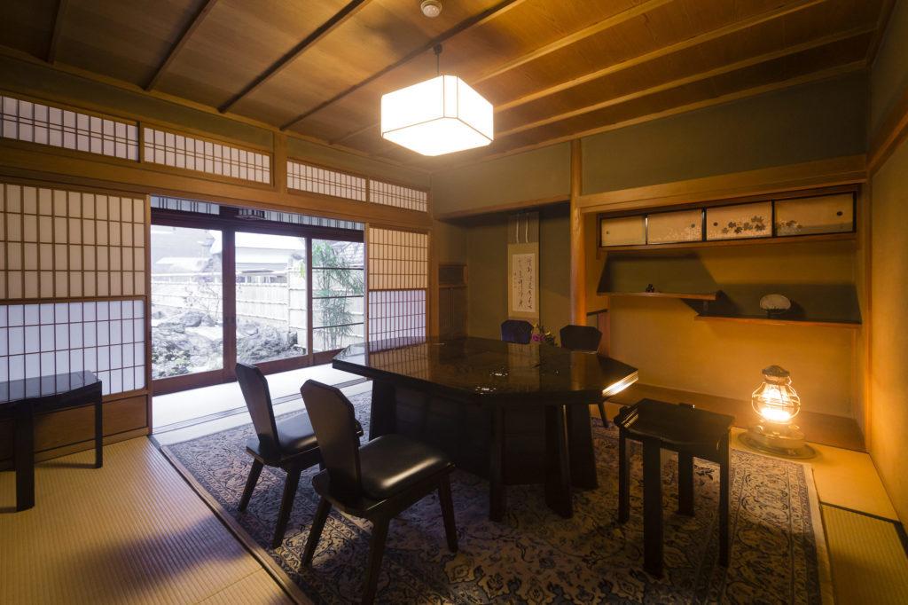 Yamanobe Cuisine Hirasansou interior