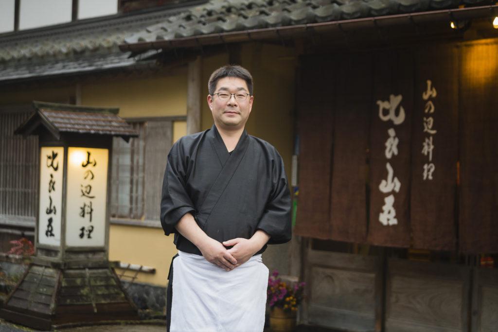 Takeji Ito(Yamanobe Cuisine Hirasansou)
