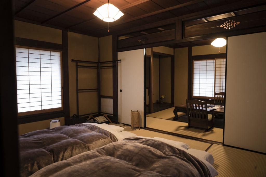 Yamanobe Cuisine Hirasansou room