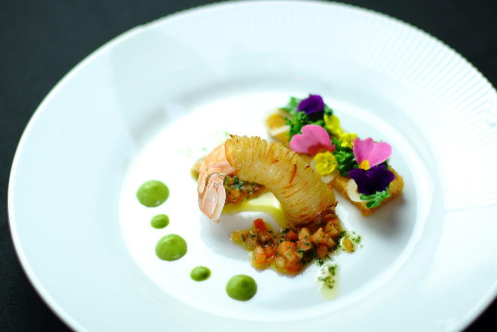 Restaurant Aromes cuisine