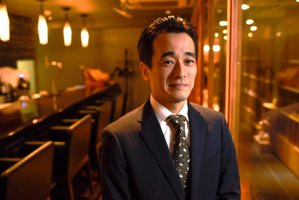 Kazumi Okabe(Restaurant Aromes)