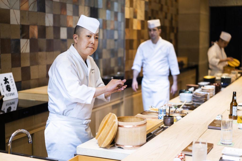 SUSHI GINZA ONODERA NEWYORK Masaki Saito