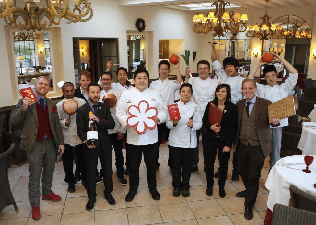 Château de Courban & SPA NUXE Takashi Kinoshita & staff