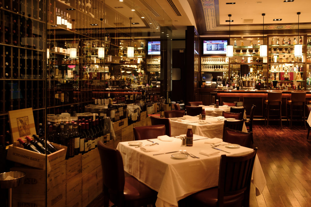 Wolfgang's Steakhouse interior
