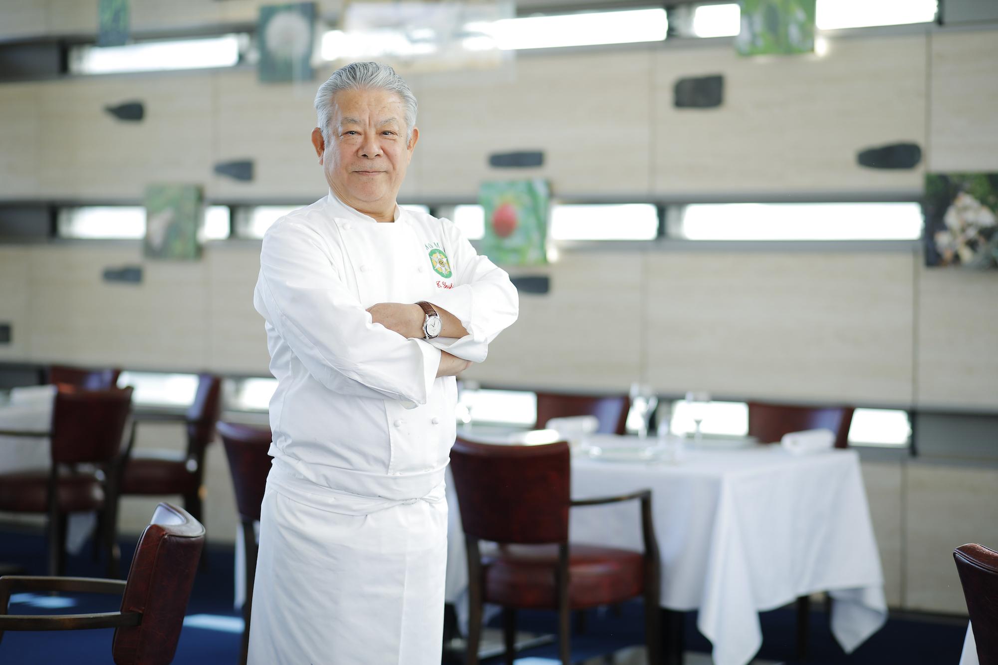 Restaurant Tateru Yoshino Ginza Tateru Yoshino