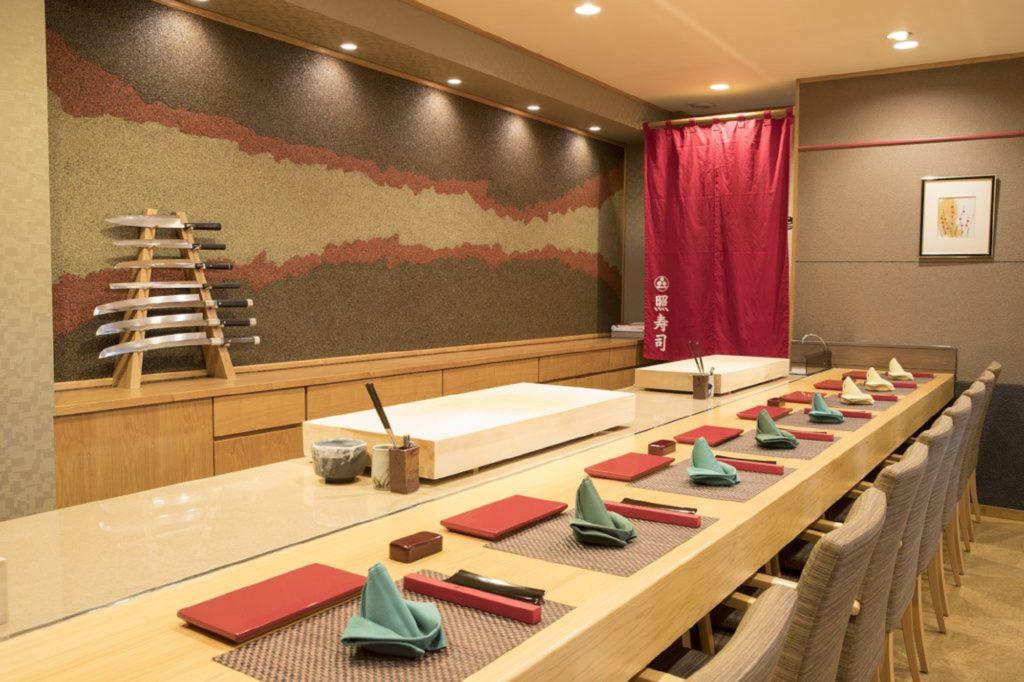 Teru Sushi interior