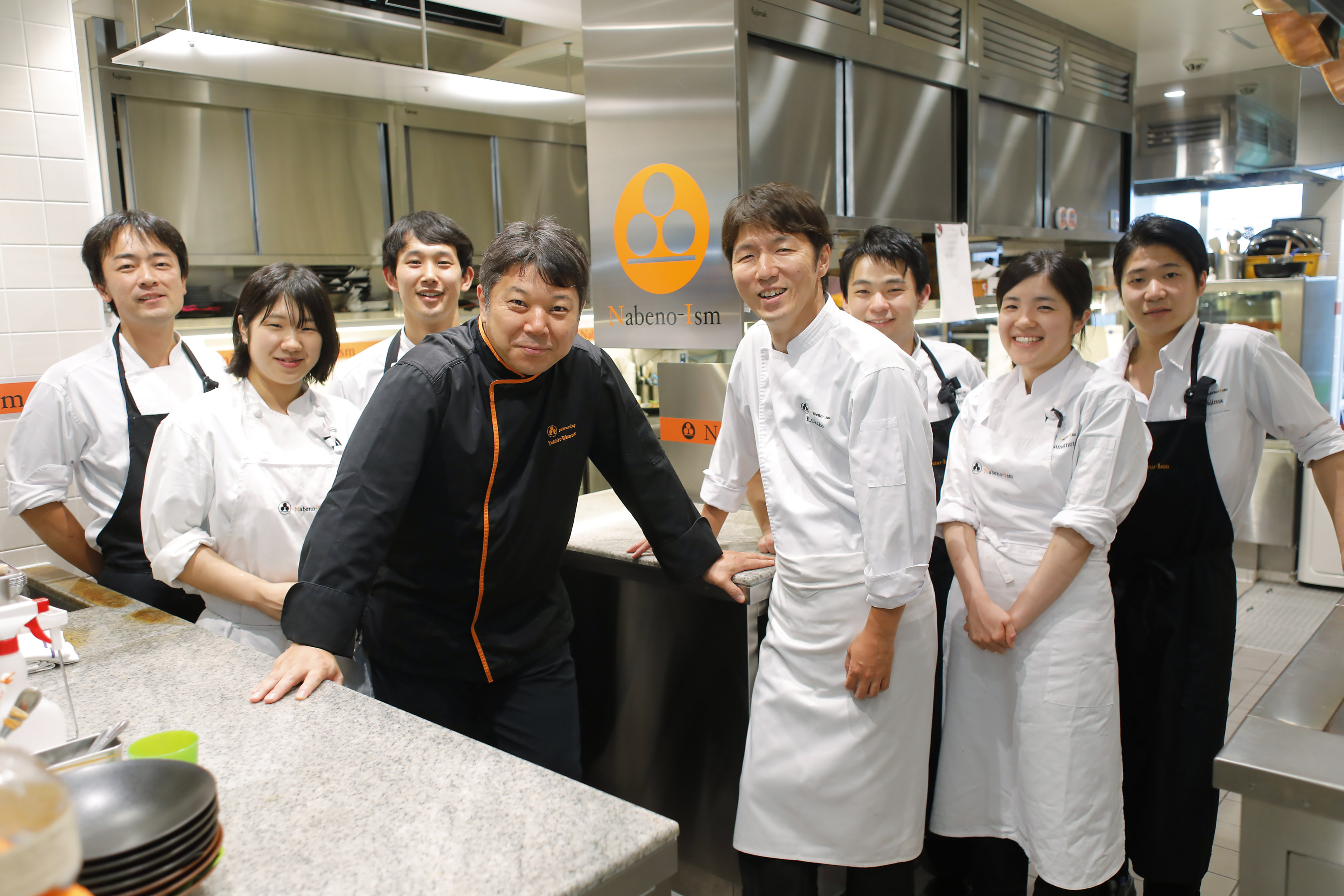 Nabeno-Ism Yuichiro Watanabe & staffs