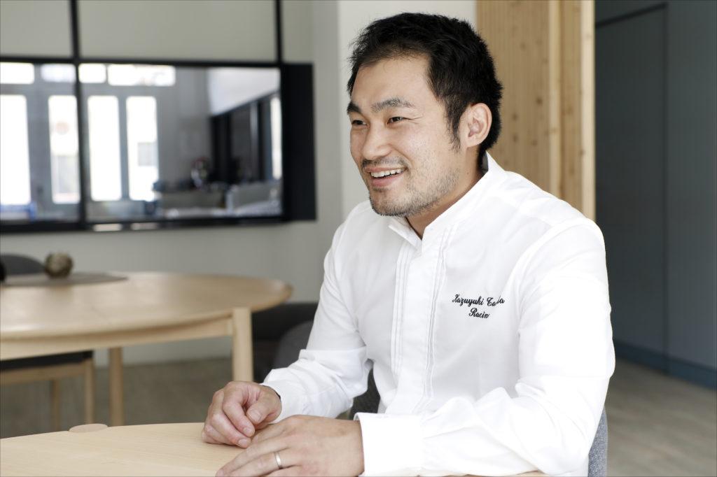 Tanaka Kazuyuki(Restaurant Racine )