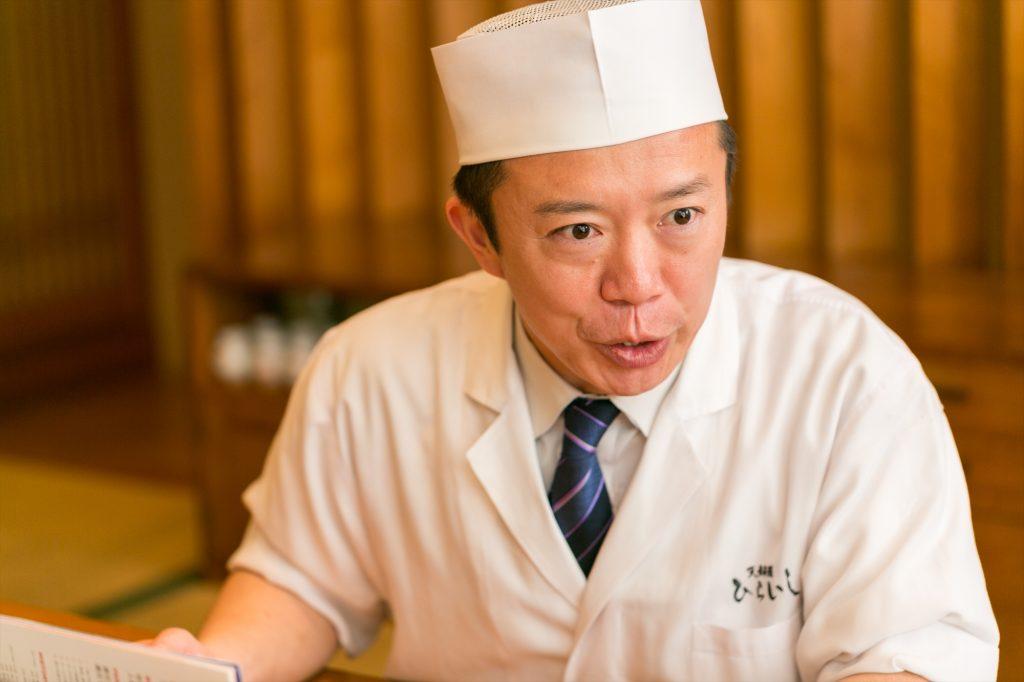 天ぷらひらいし 平石貴之