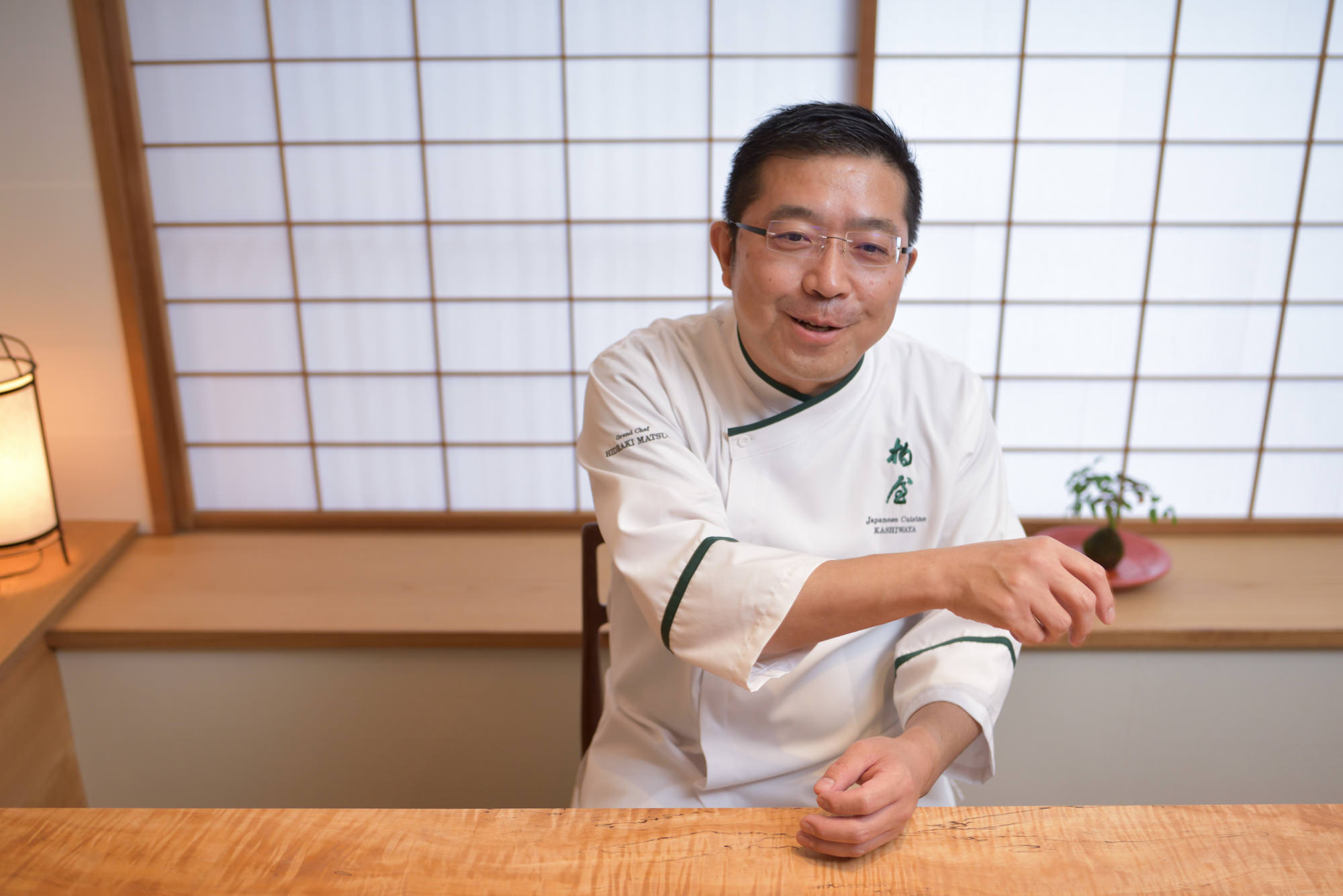 日本料理柏屋 松尾英明