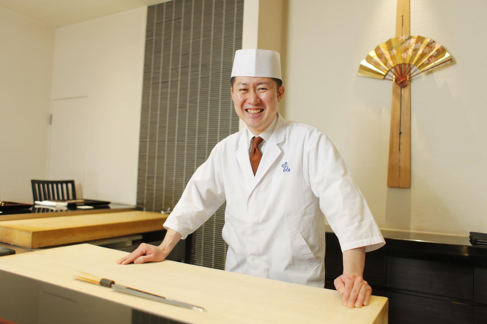 日本料理晴山 山本晴彦
