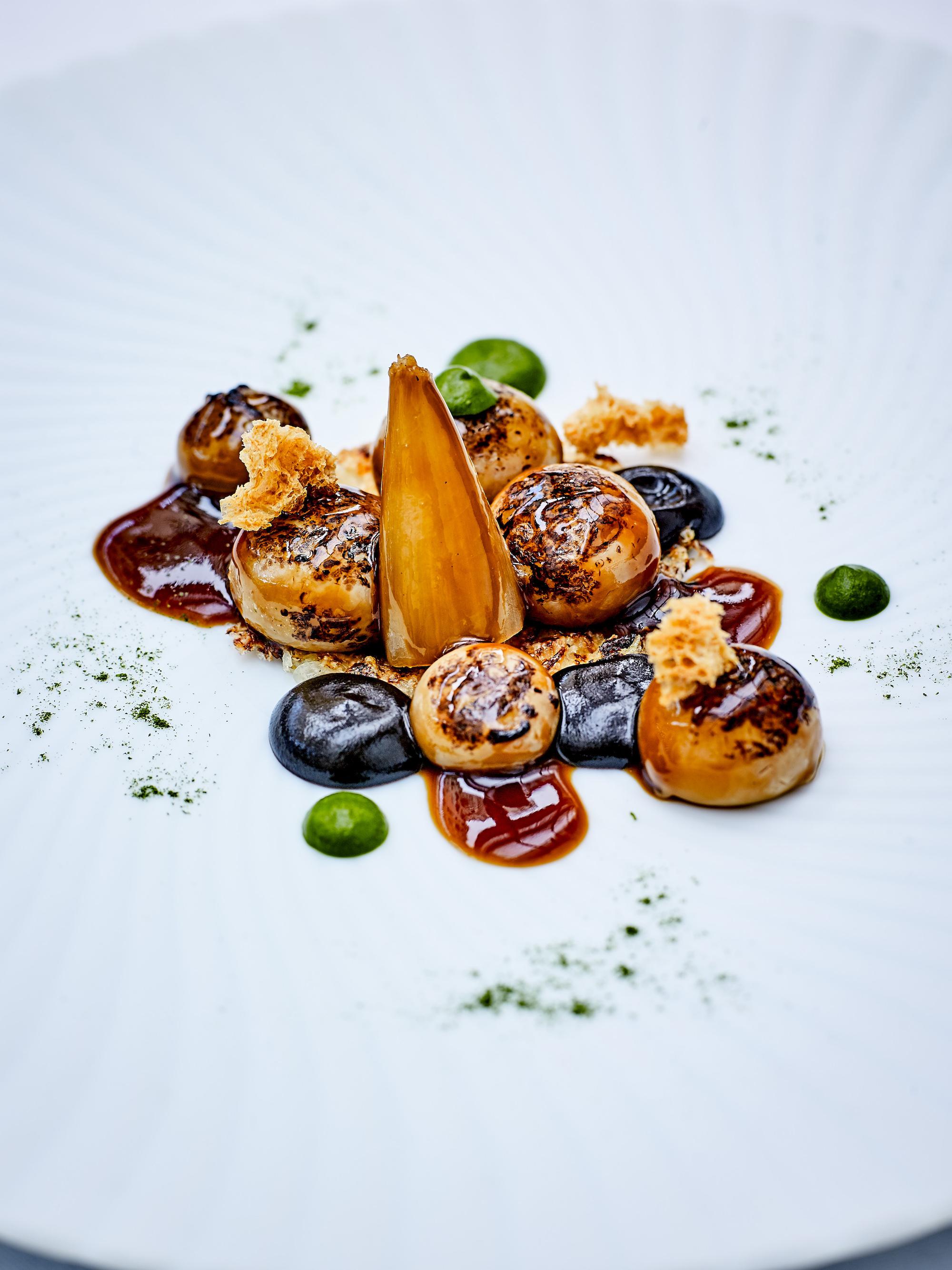 Christian Le Squer Restaurant Le Cinq(レストラン ルサンク)料理