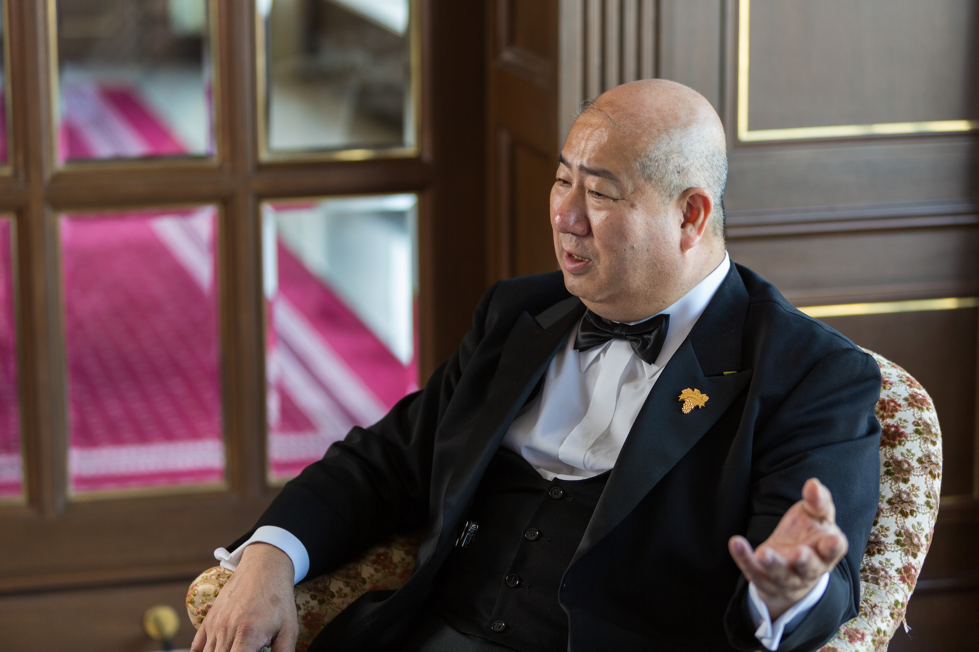 リーガロイヤルホテル「レストラン シャンボール」 岡昌治