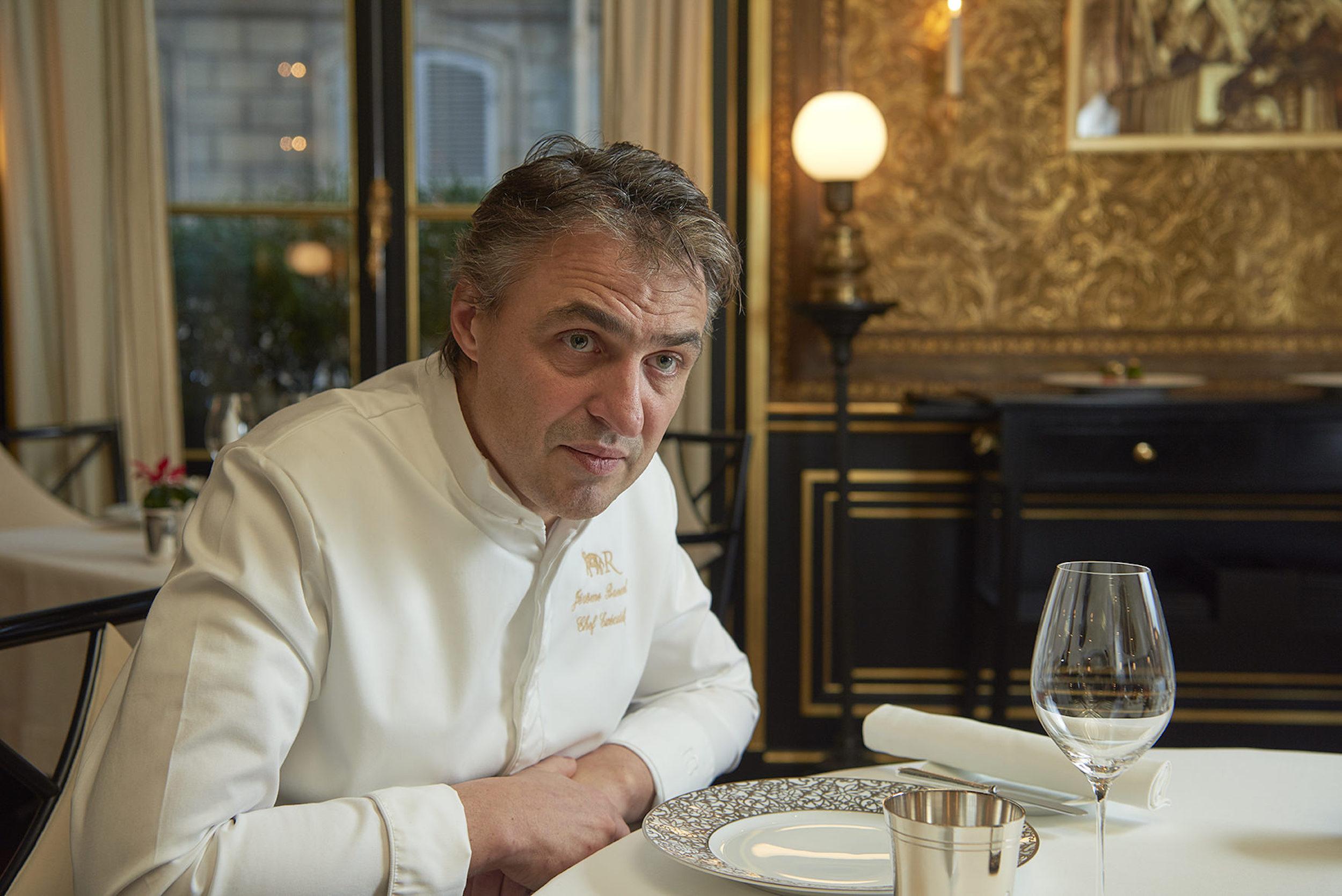 Jérôme Banctel Restaurant Le Gabriel, La Réserve Paris(レストラン・ラ・レゼルヴ)