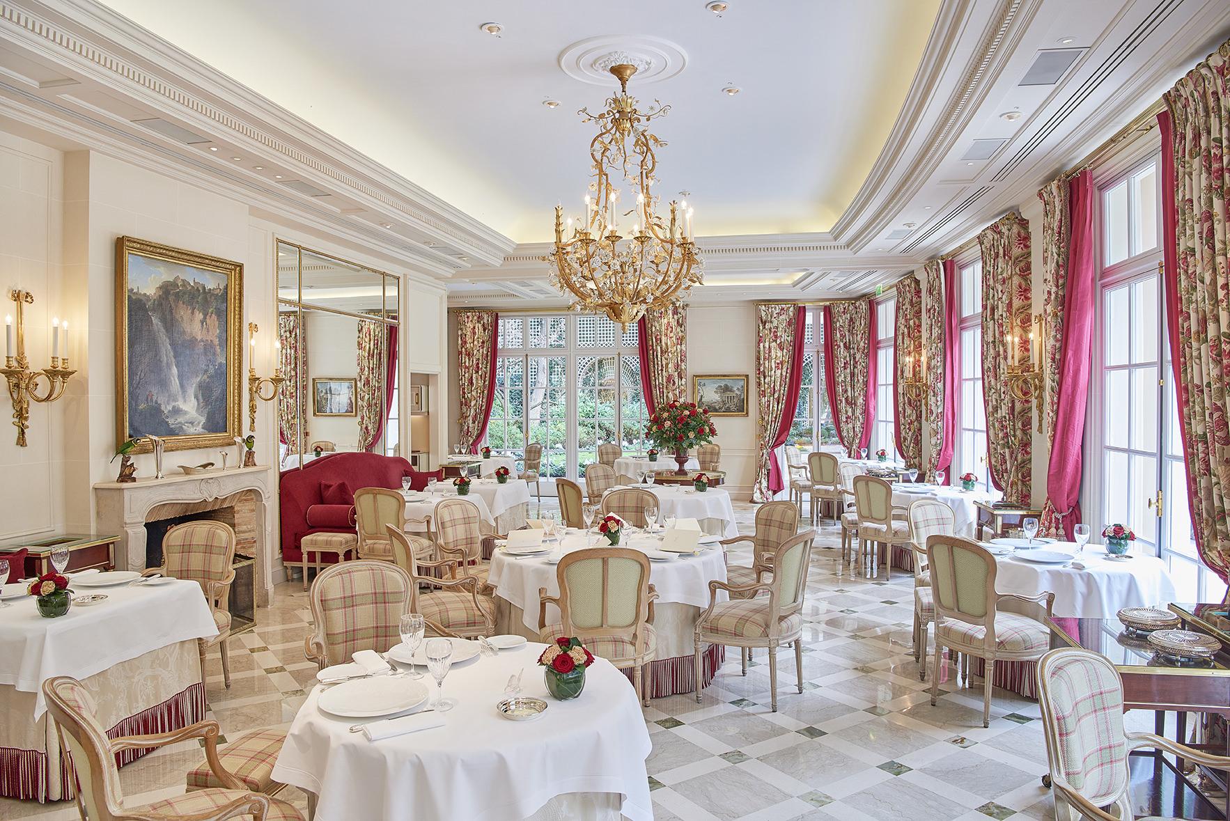 Hôtel Le Bristol Paris(ホテル・ル・ブリストル・パリ)内観