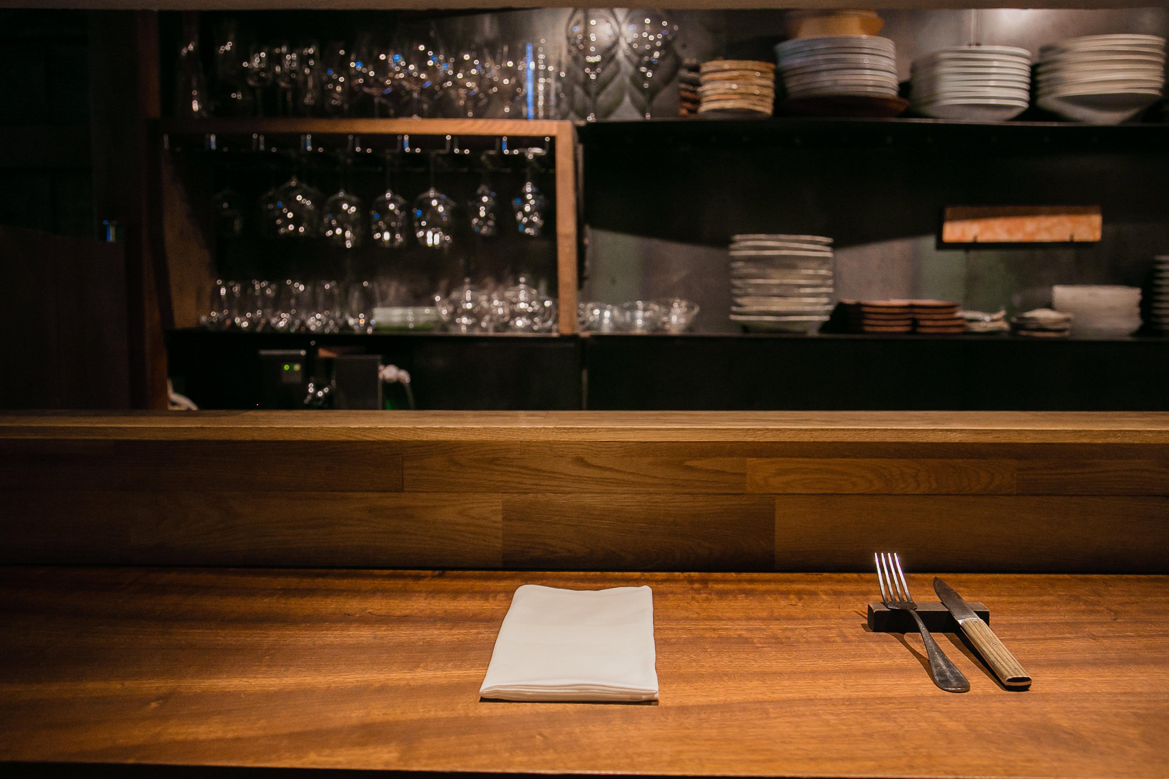 Spanish Cuisine aca 1° table-set