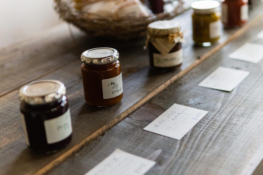villa aida(ヴィラ アイーダ)内観 採れた果物などから作る手作りコンフィチュール