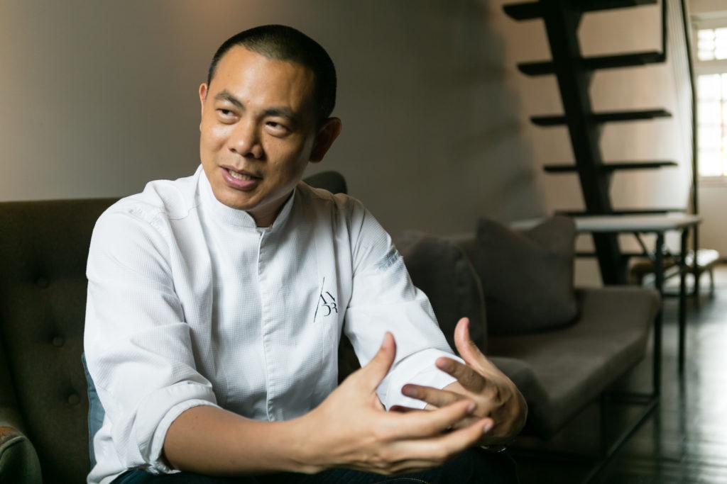 Andre Chiang Restaurant Andre(レストラン アンドレ)