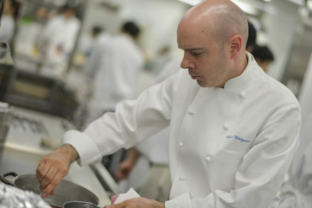L'Osier(ロオジエ)Olivier Chaignon 厨房