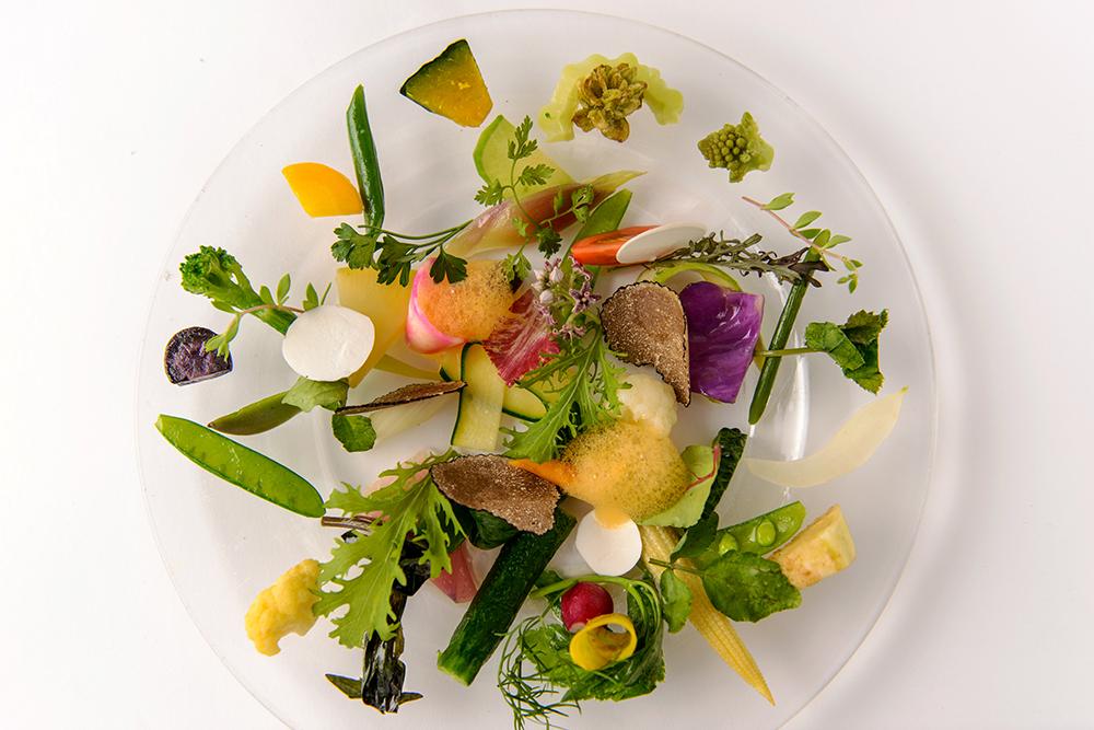 レストラン タテル ヨシノ 銀座 料理