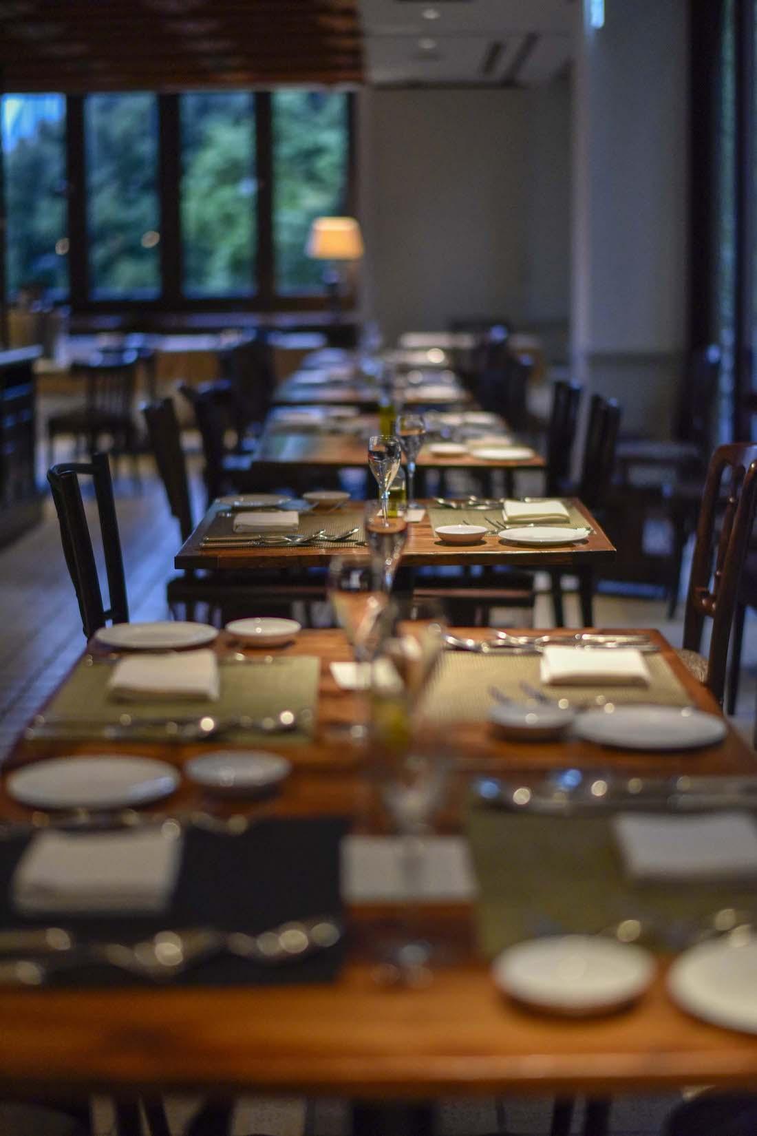 KIHACHI 青山本店 テーブルセット